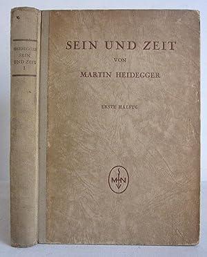 Sein und Zeit - Erste Hälfte -: Heidegger, Martin