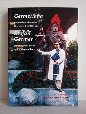 Germeriana - Unveröffentlichte oder übersetzte Schriften von: Germer, Stefan