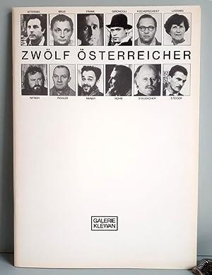 Zwölf Österreicher - Christian Attersee, Günter Brus,: Breicha, Otto (Hrsg)