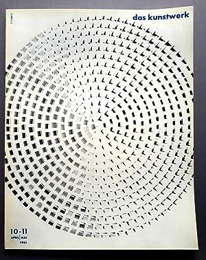 Das Kunstwerk - Eine Zeitschrift über alle: Zahn, Leopold /