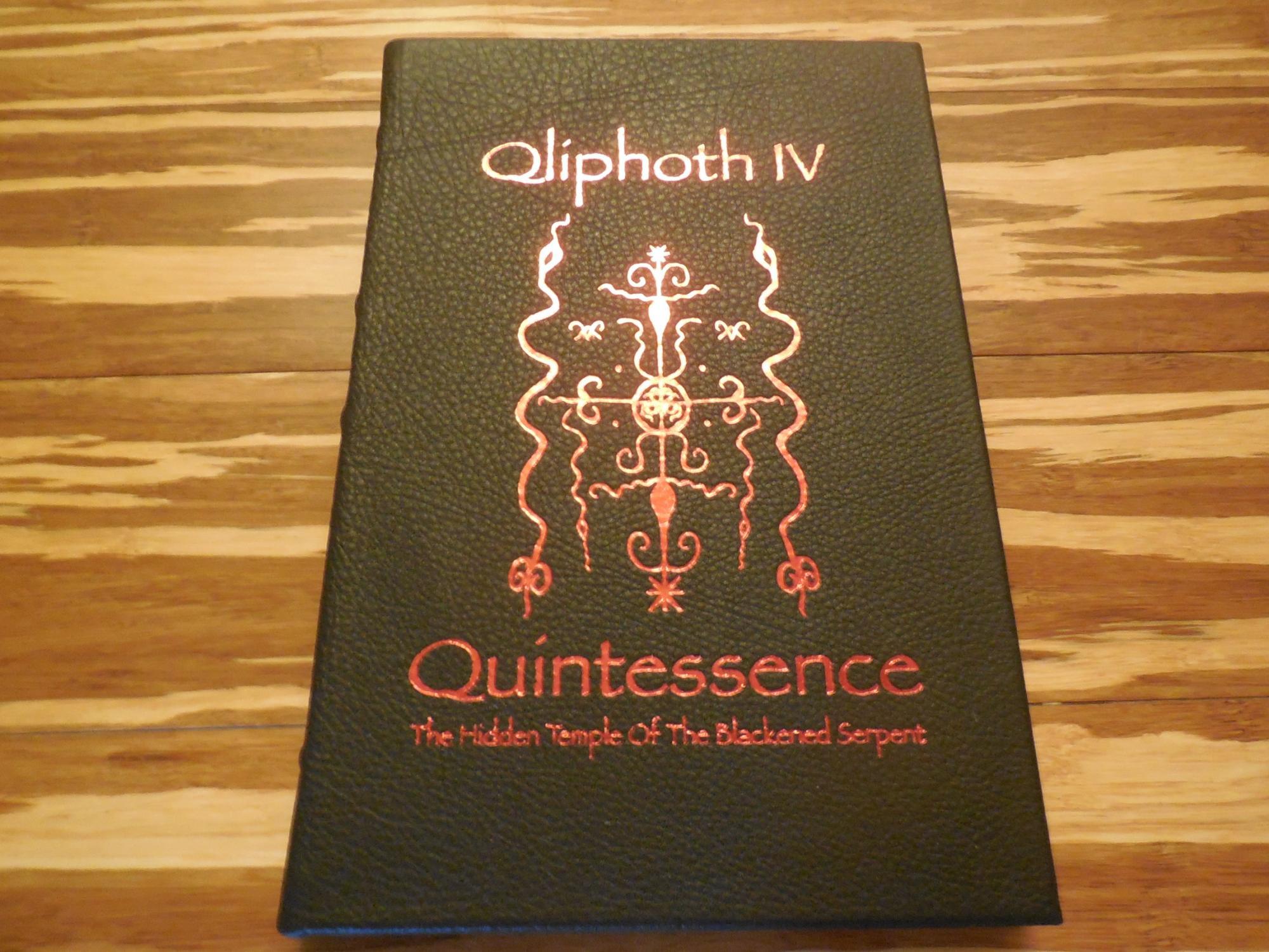 "Qliphoth IV: ""Quintessence"" (The Hidden Temple Ov the Blackened Serpent): Qayin, S. Ben (..."