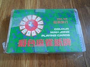 Colour Mah Jong Playing Cards (No. 101)