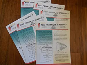 West Virginia UFO Newsletter, Volume One Complete, #1-6, 1995 (6 Issues)