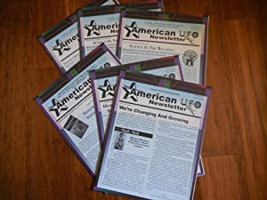 The American UFO Newsletter (formerly West Virginia UFO Newsletter), Volume 3 Complete (6 Issues)...