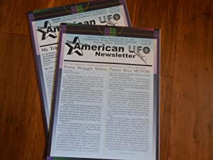 The American UFO Newsletter (formerly West Virginia UFO Newsletter), Volume 4, No. 19 & 20 (2 Iss...