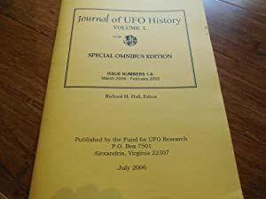 Journal of UFO History, Volume 1: Special Omnibus Edition, Issue Numbers 1-6 (March 2004 - Februa...