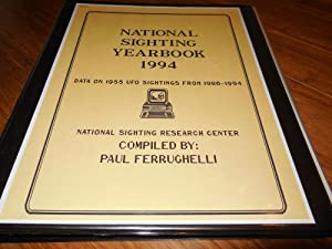 National Sighting Yearbook 1994 - Data on 1955 UFO Sightings from 1986-1994