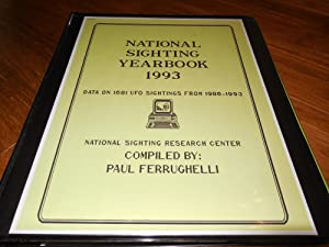 National Sighting Yearbook 1993 - Data on 1681 UFO Sightings from 1986-1993