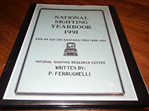 National Sighting Yearbook 1991 - Data on 1221 UFO Sightings from 1986-1991
