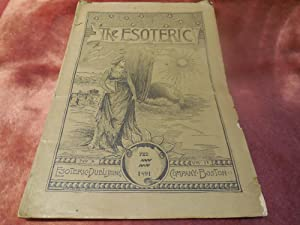 The Esoteric - A Magazine of Advanced and Practical Esoteric Thought, Vol. IV, No. 8, February 1891...
