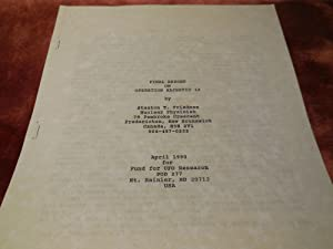 Final Report on Operation Majestic 12: Friedman, Stanton T.