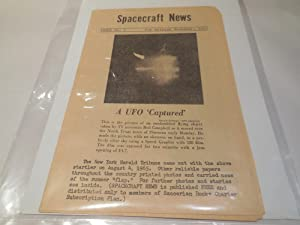 Spacecraft News, Issue No. 1, November 1965 (Premier Issue): Barker, Gray. McCulty, Don Leigh