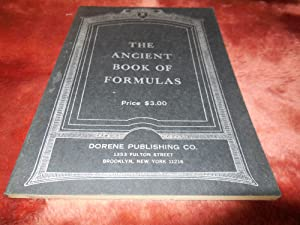 The Ancient Book of Formulas: Dorene Publishing Co.