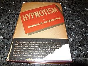 Hypnotism: Estabrooks, George H.