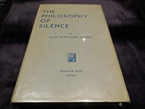 The Philosophy of Silence