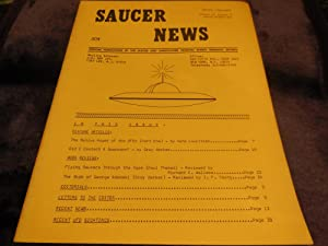 Saucer News, Winter 1966-67, Volume 13, Number 4 (Whole Number 66)
