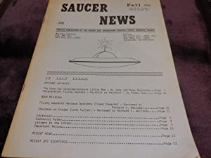 Saucer News, Fall 1966, Volume 13, Number 3 (Whole Number 65)
