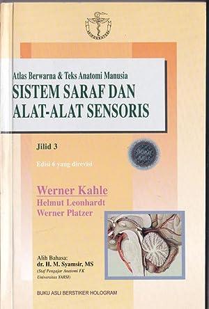 Atlas Berwarna & Teks Anatomi Manusia, Jilid3,: Kahle, Werner, Leonhardt,
