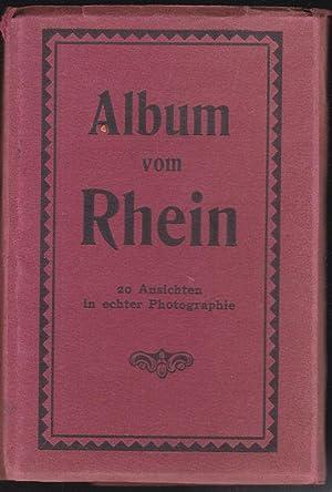 Album vom Rhein, 20 Ansichten in echter: Unknown