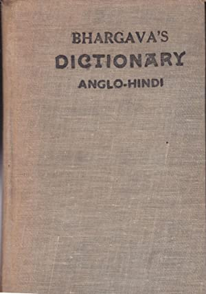 Bhargava's Standard Illustrated Dictionar of the English Language (Anglo-Hindi Edition)