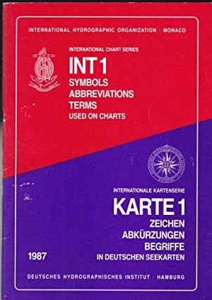 Internationale Kartenserie Karte 1: Zeichen, Abkürzungen, Begriffe: Deutsches Hydrographisches Institut
