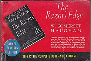 The Razor's Edge. Armed Services Edition: Maugham, W. Somerset