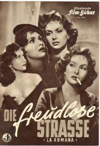 ILLUSTRIERTE FILM-BÜHNE Nr. 2762. DIE FREUDLOSE STRASSE