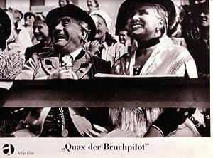 AUSHANGFOTO. QUAX DER BRUCHPILOT (1941). Regie: Kurt