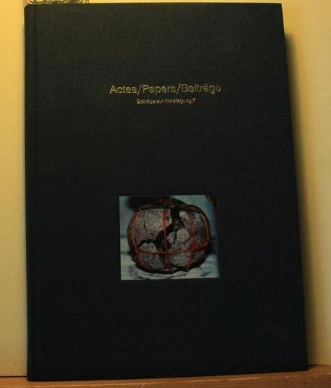 Actespapersbeiträge Zur Waidtagung Jg 7 2nd International