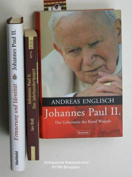 Konvolut 3 Bücher Von Und über Papst Johannes Paul Ii 1 Johannes