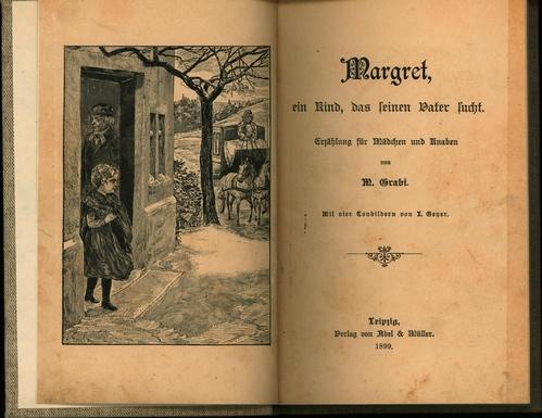 Margret, ein Kind, das seinen Vater sucht.: Grabi, M.