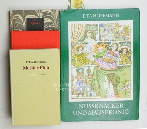 Konvolut sechs Bücher:,1. Meister Floh;: Hoffmann, E.T.A.