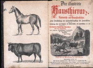 Der illustrierte Hausthierarzt für Landwirthe und Hausthierbesitzer.,Eine: Zipperlen, Wilhelm