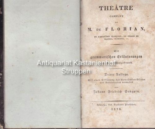 Theatre complet de M. de Florian de: M. de Florian
