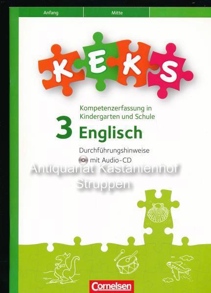 Keks Englisch 3kompetenzerfassung In Kindergarten Und Schule