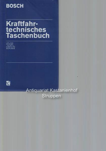Kraftfahrttechnisches Taschenbuch,Bosch: Bauer, Horst