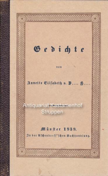 Gedichte Von Annette Von Droste Hülshoff