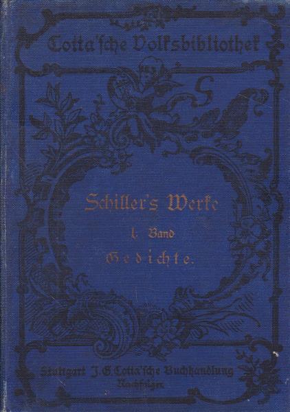 12 Bände Schillers sämtliche Werke in zwölf: Schiller, Friedrich
