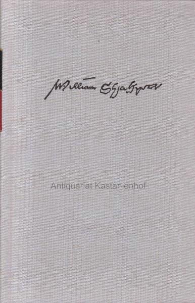 3 Bände William Shakespeare. Sämtliche Werke in: Shakespeare, William