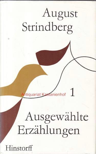 3 Bände Ausgewählte Erzählungen in drei Bänden,: Strindberg, August