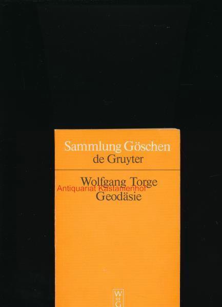 geschichte der geodsie in deutschl and torge wolfgang