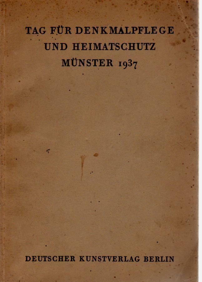 Tag für Denkmalpflege und Heimatschutz Münster: Tagungsbericht