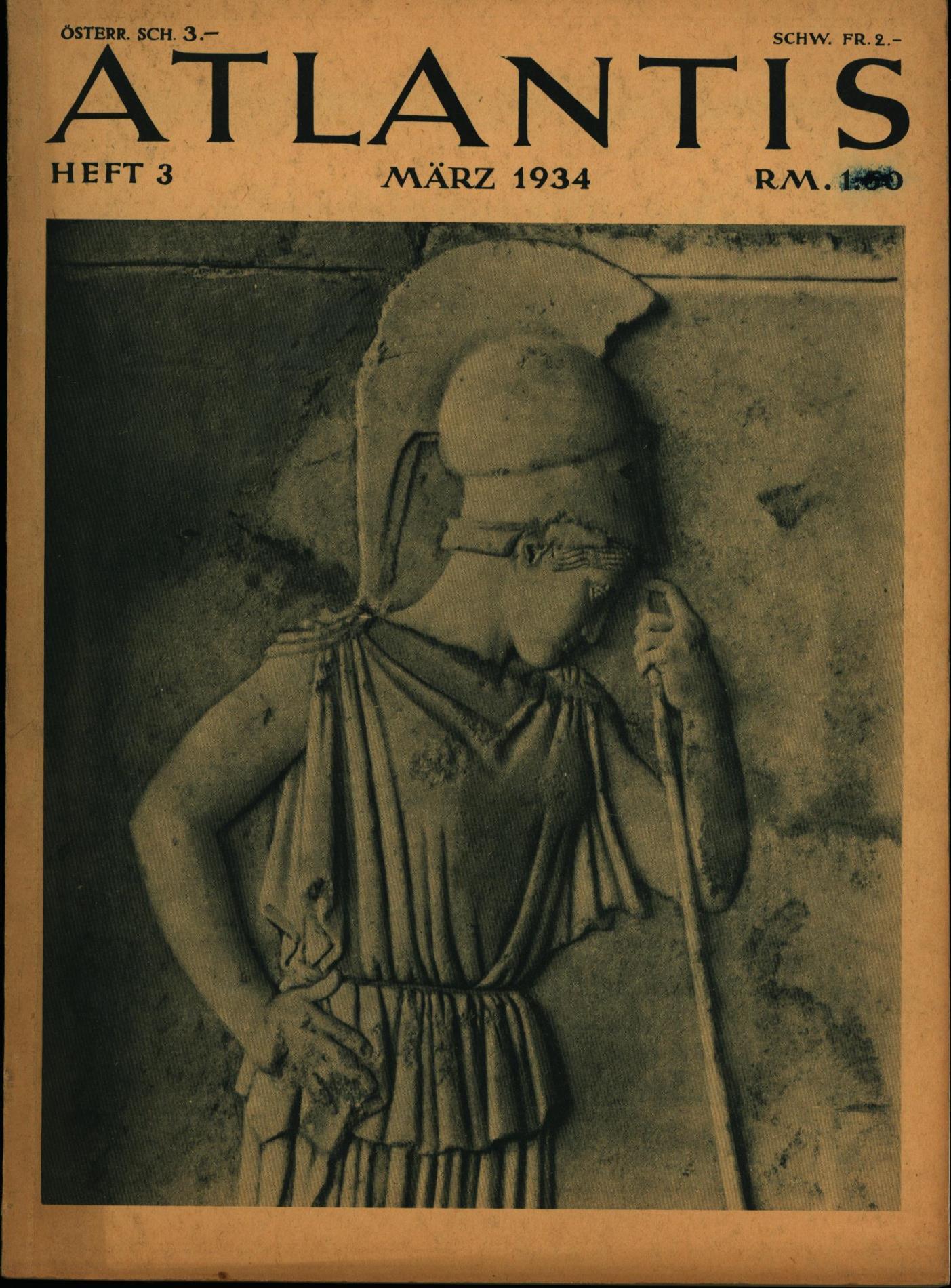 Atlantis. Länder / Völker / Reisen HIER: Hürliman, Martin; Rave,