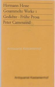 12 (zwölf) Bände: Gesammelte Werke,1. Gedichte, Frühe: Hesse, Hermann