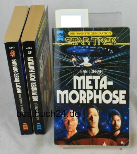 Konvolut von 4 Bänden Star Trek,Nacht über: Laurell K. Hamilton,