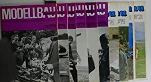 Konvolut zehn Hefte: modellbau heute, Zeitschrift für: Zentralvorstand der Gesellschaft