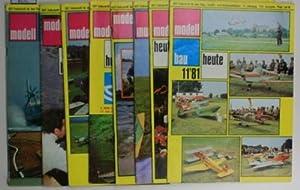 Konvolut acht Hefte: modellbau heute 1981,Hefte 2,: Hrsg.