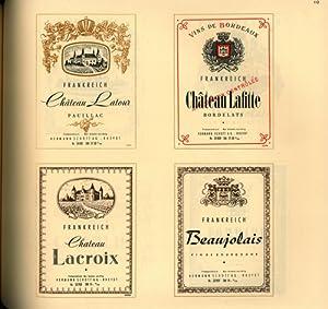 Der große Wein-Etiketten-Katalog,,Etiketten für Deutsche und Auslandsweine, Wermut und Schaumweine,...