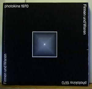 Photokina 1970. Internationale Photo- und Kino- Ausstellung, Köln, 03. bis 11. Oktober. Firmen...