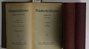 Rückerts Werke, acht Teile in drei Bänden,,herausgegeben von Elsa Hertzer: Rückert, ...